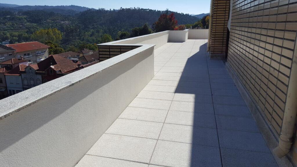 Reabilitação de terraço